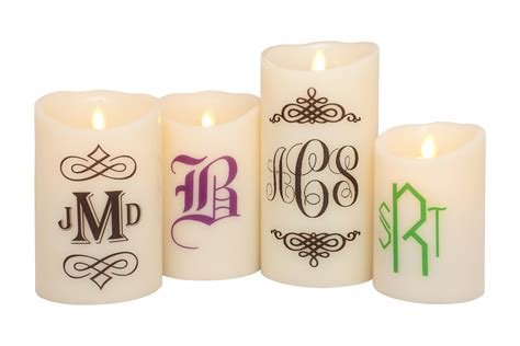 Custom Candles Custom Flameless Led Candles Custom Candles Custom