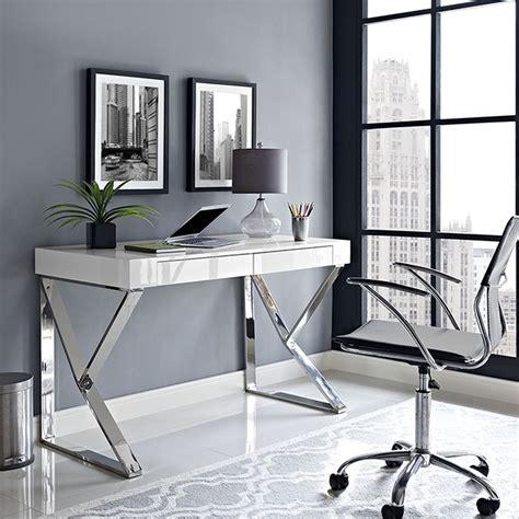 adjacent rectangular wood top office desk white dcg stores