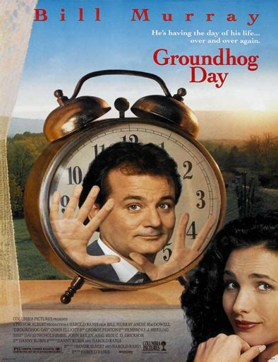groundhog day anime ver groundhog day hechizo tiempo 1993