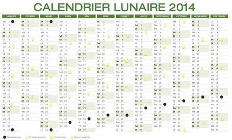 Calendrier 2010 Avec Lune Calendrier Lunaire 2014 224 Imprimer Et T 233 L 233 Charger
