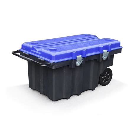 plastic rolling tool box with drawers shop kobalt 25 13 in w x 20 63 in h no drawer slides