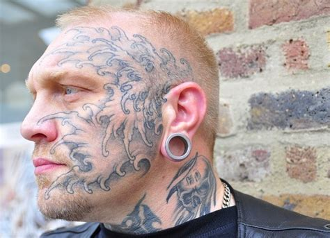 face tattoos for men cool for tattooimages biz