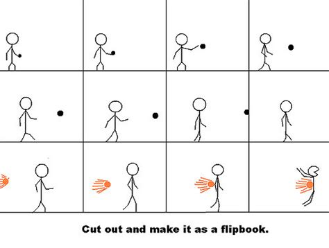 Stickman Flip Book Boogeyman631 Flickr Flip Book Template