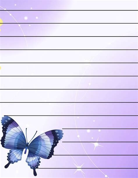 fancy writing paper templates a4 lined paper templates print and 15