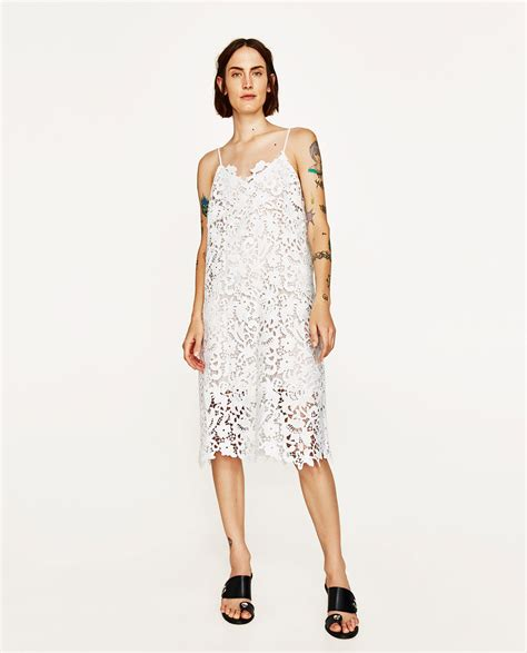 Jual Zara Dress lace dress zara uk us exchange dress uk
