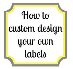 lewisville how to make your own labels using picmonkey