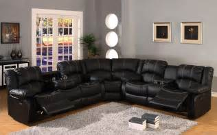 Sectionals And Sofas Heavenly Black Leather Modern Sofa Design Idea And Awesome Black Small Table Ideas Between Sofa