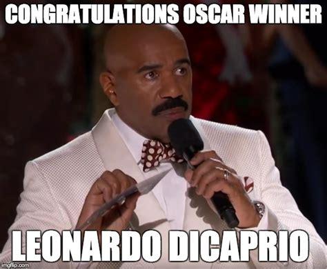 Leonardo Oscar Meme - poor steve imgflip