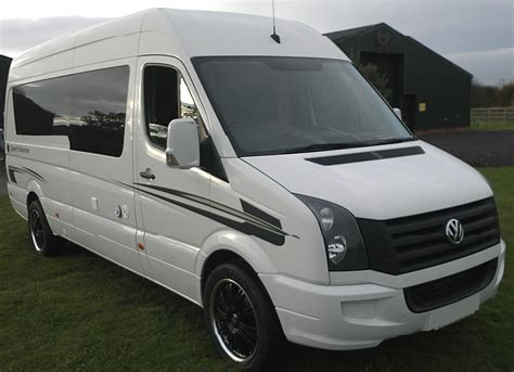 volkswagen crafter back vw crafter race van by hr multisport paddock 42