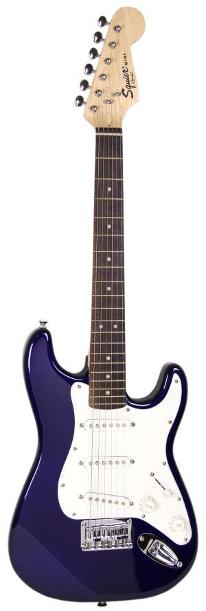 light blue fender electric guitar squier by fender mini strat electric guitar blue ebay