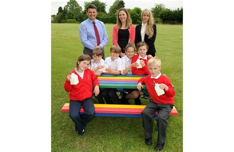 picnic benches for schools 3 x junior rainbow picnic benches