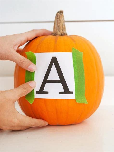 Chanel Pumpkin Brilliant by How To Make A Monogrammed Pumpkin Initials Pumpkins And