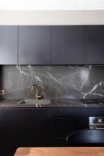 black kitchen backsplash 27 moody kitchen d 233 cor ideas digsdigs