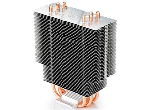 Deepcool Cpu Fan Cooling Gammaxx 400 White gammaxx 400 deepcool cpu air coolers