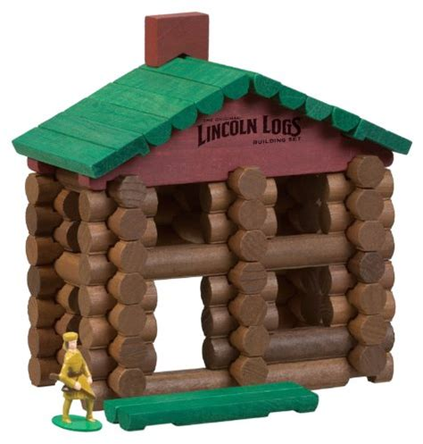 buy lincoln logs lincoln logs classic edition tin in the uae see