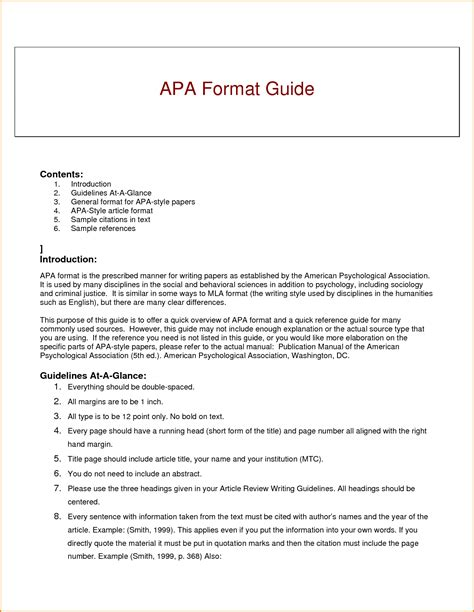 writing an apa research paper writing research paper apa style bamboodownunder