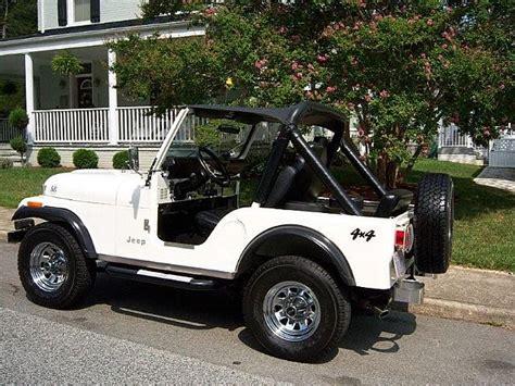 1982 Jeep Wrangler For Sale 1982 Jeep Cj5 For Sale South Boston Virginia