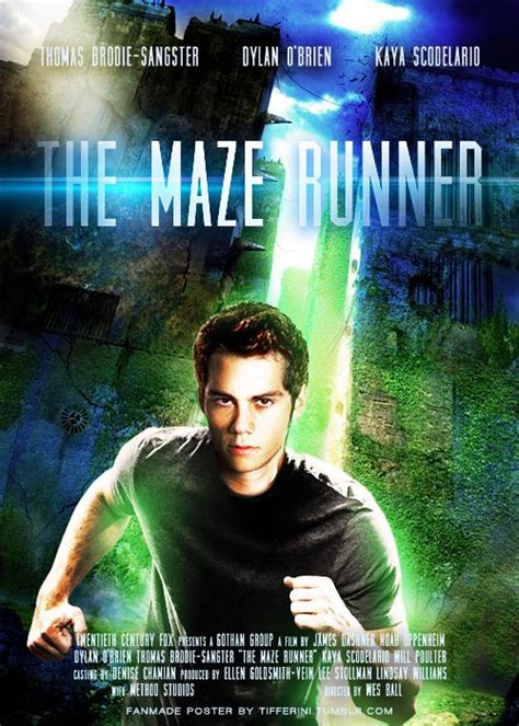 maze runner fan film the maze runner movie poster fan made the maze runner