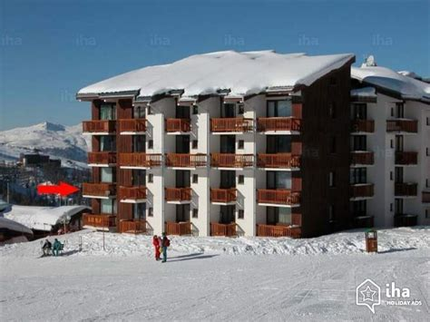 appartments for rent in la flat apartments for rent in la plagne villages iha 51291