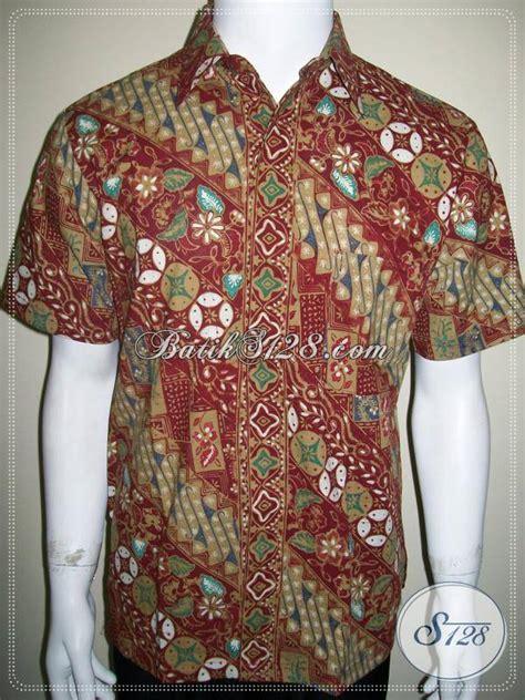 Batik Cap Parang Colet baju batik karyawan kantor motif parang kawung warna
