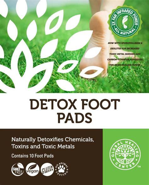 Organic Foot Detox by Detox Foot Pads 100 Organic