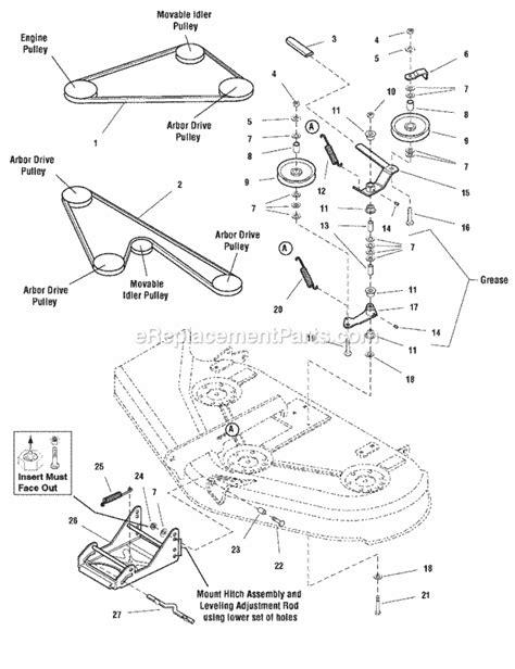 simplicity mower belt diagram simplicity 1694171 parts list and diagram