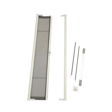 odl brisa premium retractable screen kit for 80 in inswing hinged doors white zabitat