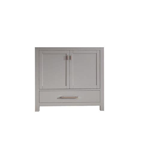 36 vanity cabinet only avanity modero 36 in vanity cabinet only in chilled gray