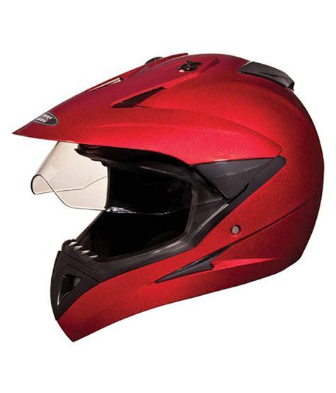 studds motocross helmet studds helmet motocross plain cherry