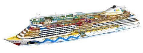 aidaprima aufbau kreuzfahrtschiffe die aidaluna