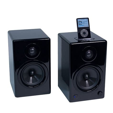 Fh007 Mini Speaker System Looks Cool Sounds Great by Aktimate Mini The Coolest Ipod System To Date