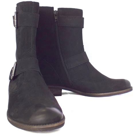 mid calf boots for gabor boots mid calf boot in black nubuck