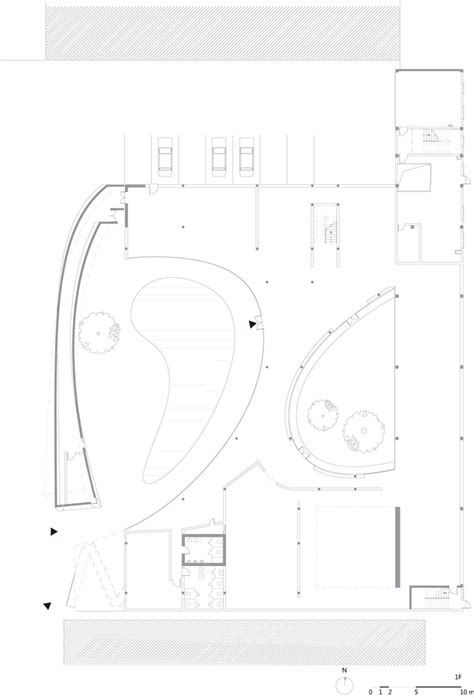 tree floor plan gallery of tree art museum daipu architects 22