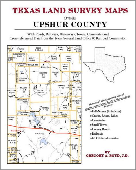 texas land survey maps upshur county texas land survey maps genealogy history ebay