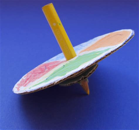 Make A Dreidel Out Of Paper - how to make a dreidel with a pencil