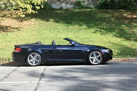 how to sell used cars 2009 bmw m6 interior lighting sell used 2009 bmw m6 convertible 2 door 5 0l 500bhp carbon black dark blue in new york new
