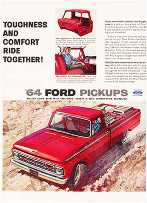old car manuals online 2005 ford f series lane departure warning 1964 ford f100 shop manual