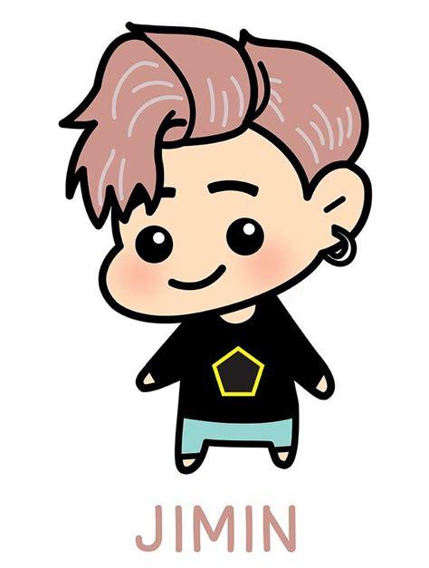 Topi Snapback Cotton Custom Bts Jin Chibi allkpop the shop bts jimin chibi