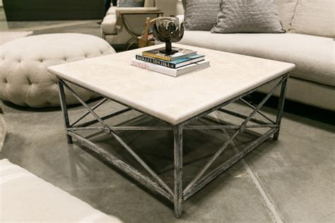 travertine coffee table medallion square iron travertine coffee table
