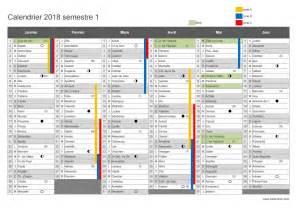 Calendrier 2018 2ème Semestre à Imprimer Le Calendrier Scolaire 2017 2018 224 Imprimer Du