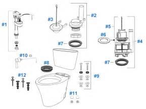 How To Fix Kohler Faucet Kohler Toilets Parts Diagram Recirculating Pump Parts