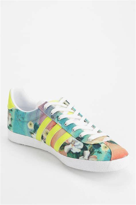 floral sneaker lyst adidas originals x the farm company gazelle floral