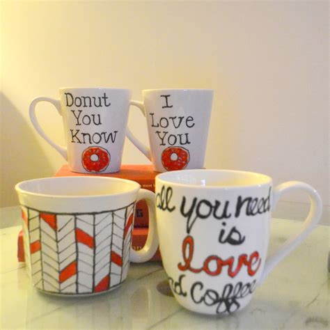 valentines coffee mugs donut you valentine s day is coming up