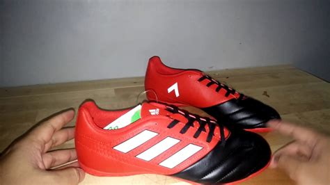 Adidas Diskon | diskon 40 sepatu futsal adidas ace 17 4 red black youtube