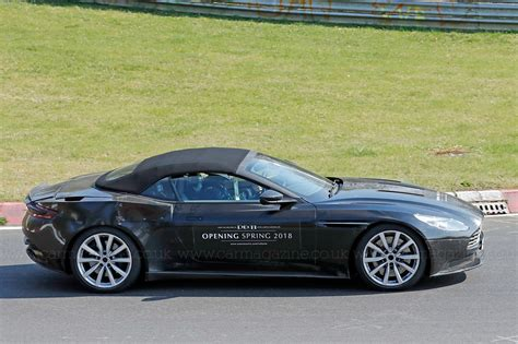 green aston martin db11 when prototypes become mobile billboards aston martin