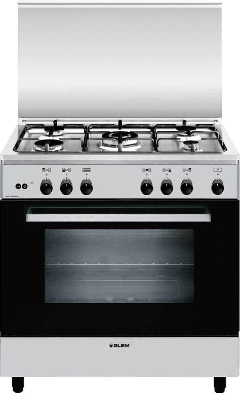 cucine a gas cucina a gas glem gas a855gi forno a gas 80x50