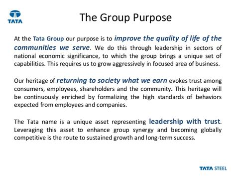 Mba Csr Of Tata by Tata Csr Dipanjan Roy