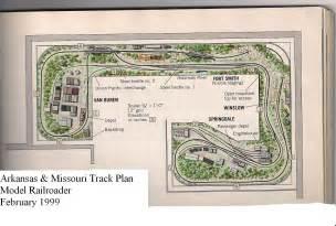 my proto freelance model railroads trackplans