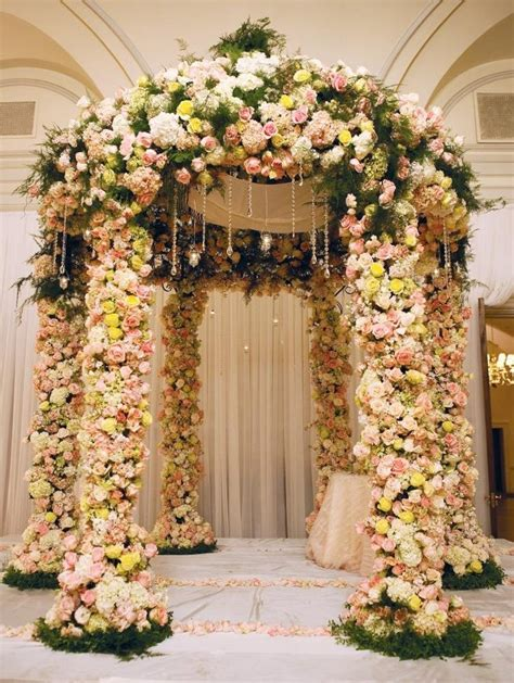 Floral Flowers by Beautiful Floral Ceremony Chuppahs Topweddingsites