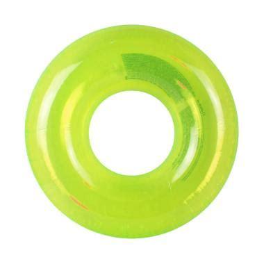 Intex Ban Bulat Pegang Untuk Dewasa jual intex pelung renang transparent swim ring 59260 hijau harga kualitas